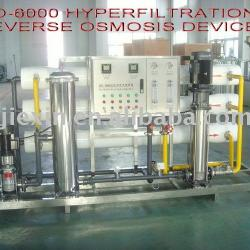 1-Step Hyperfiltration Reverse Osmosis Device Water Treatment (RO Series)