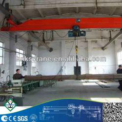 10 ton electric hoise single beam suspension overhead crane