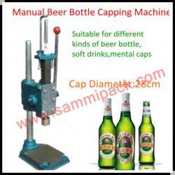 100% Warranty Vertical Beer Bottle Capping Machine.