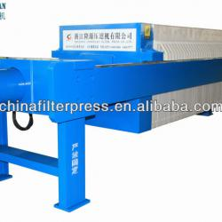 1000 Series Diatomaceous Earth Chamber Filter Press