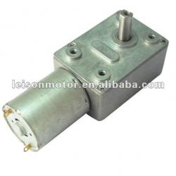 12V 24V High Torque Dc Micro Worm Gear Motor