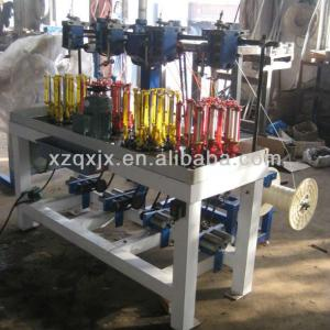 13 spindles 4 heads high speed rope braiding machine