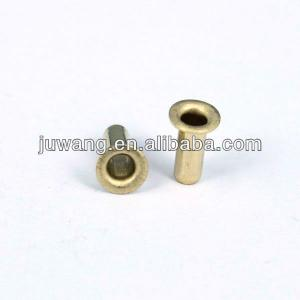 2.0mm brass PCB eyelet with tin plated