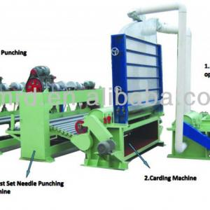 2.6M Needle-punched cotton machine