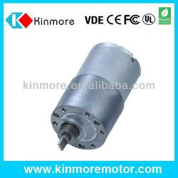 24V 37mm DC Gear Motor For Peristaltic Pump