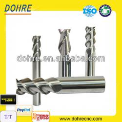 3 Flute Uncoated Milling Cutter For Aluminum Alloy