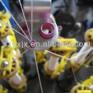 3 spindles 16 heads high speed fishing line braiding machine