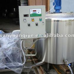300L vertical milk cooling tank fresh milk cooling tank with direct expansion