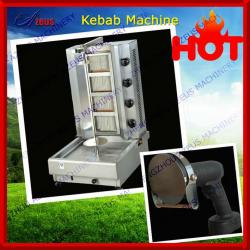 4 Gas burners gas doner kebab machinery