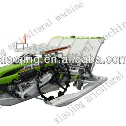 4 row rice transplanter with yamaha engine 300mm row pitch