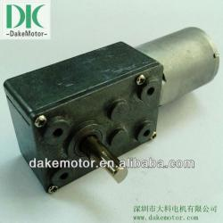 46mm 12V 24 DC Worm Gear motor for windows actuator