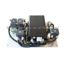 48V motor controller assembly for electric vehicle