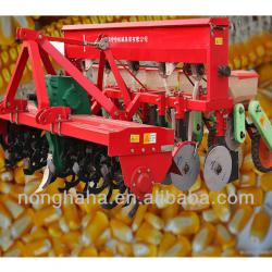 5 rows of rotary corn/maize/soybean,cotton seeder/seed drill with fertilizer