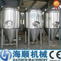 500 Gallon Cooling Jacket Conical Fermenter Tank