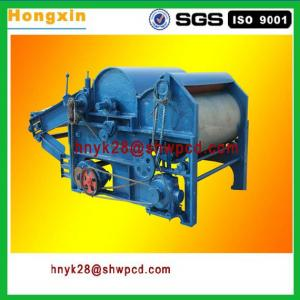 500 mm diameter roller four rollers textile waste recycling machine fabric cotton waste recycling machine