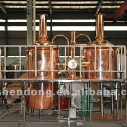 500L micro brewing equipment copper mash tun