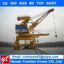5Ton,16Ton,40Ton Port 360 Degree Pedestal Crane