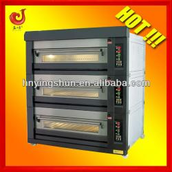 9 trays electric deck oven/12 trays deck oven/bakery equipment for shops