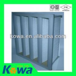 ABS Frame V Bank Medium Filter