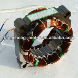 AC Motor Stator With Copper Coil Washing Machine Motors