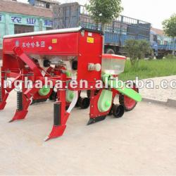 Agricultural machinery/ corn row planter/precise planter/profiling bucket wheel in 3 rows
