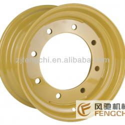 Agricultural Steel Wheel from 16.5 to 17.5 with different PCD,offset and vent hole