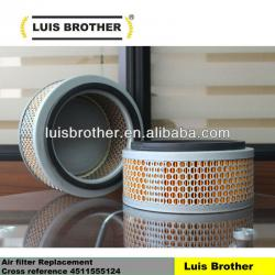 Air filter Cross reference 4511555124