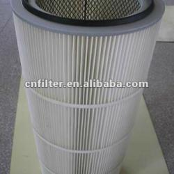 Air filter for cement works, Cement works air filter