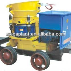 air motor drive spray concrete gunite machine