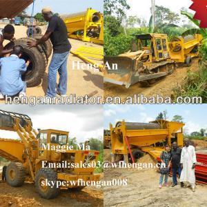 Alluvial Small Gold Mining Equipments Popular in Ghana