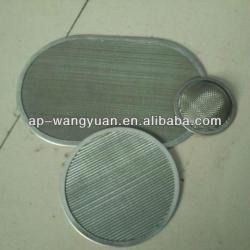 Anping Wangyuan Stainless Steel Filter Disc