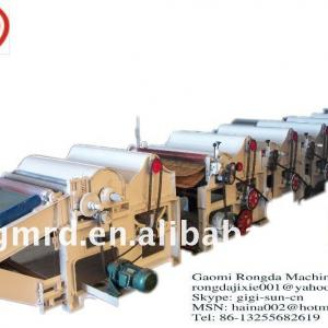 Auto Textile Machine for Waste tectile yarn recycle