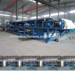 automatic belt vacuum filter for vanadium oxide