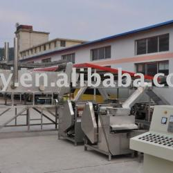 Automatic fried nut/pea/bean production line