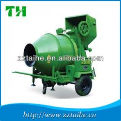 automatic high efficient electric JZC500 portable concrete mixer