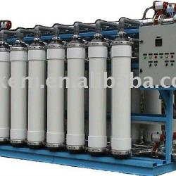 Automatic high-pressure mineral water processing device