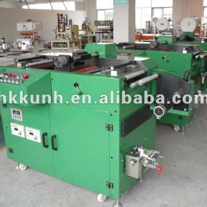 Automatic label slitting machine