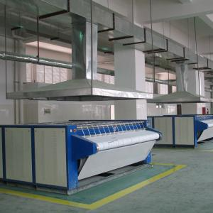 Automatic Laundry Ironing machine with steam heating
