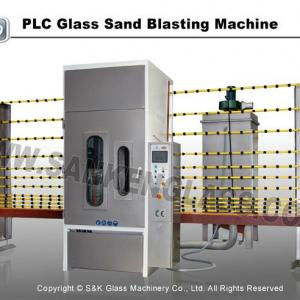 Automatic System Glass Sandblasting Machine