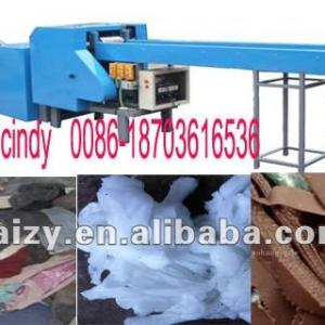 Automatic textile cutting machine/waste cloth cutting machine with low price 0086-18703616536