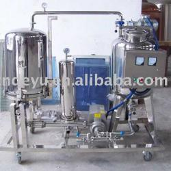 beer equipment for filtering