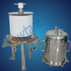 beer filter (Lenticular filter housing)