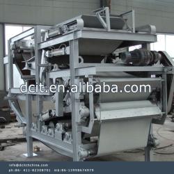 belt filters for dewatering sludges