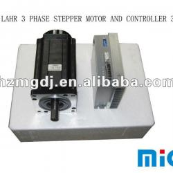 BERGER LAHR 3 PHASE STEPPER MOTOR AND CONTROLLER