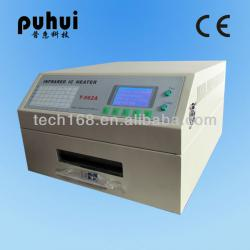 BEST Desktop Infrared LED SMTsoldering Reflow Wave Oven Tai'an PUHUI T-962A Made in China Tai'an Manufacturer