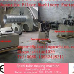 Best price!! spiral tube making machine, filter core making machine