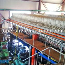 Beverage industry membrane filter press