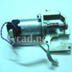 C4713-60094 - Paper (X-axis) drive motor (Includes helical drive gear) for the DesignJet 430 450 455 488 plotter parts