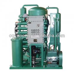 Carbon steel portable explosion proof oil purifier exporter, Coolant Oil Purification Machine