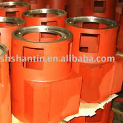 Cast iron electrical motor casing